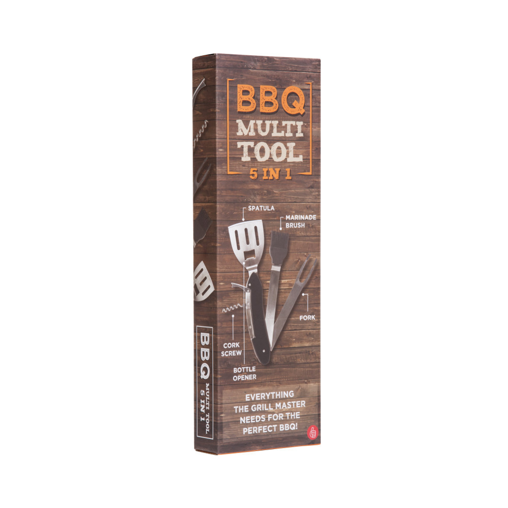 5-in-1 BBQ-Grillbesteck
