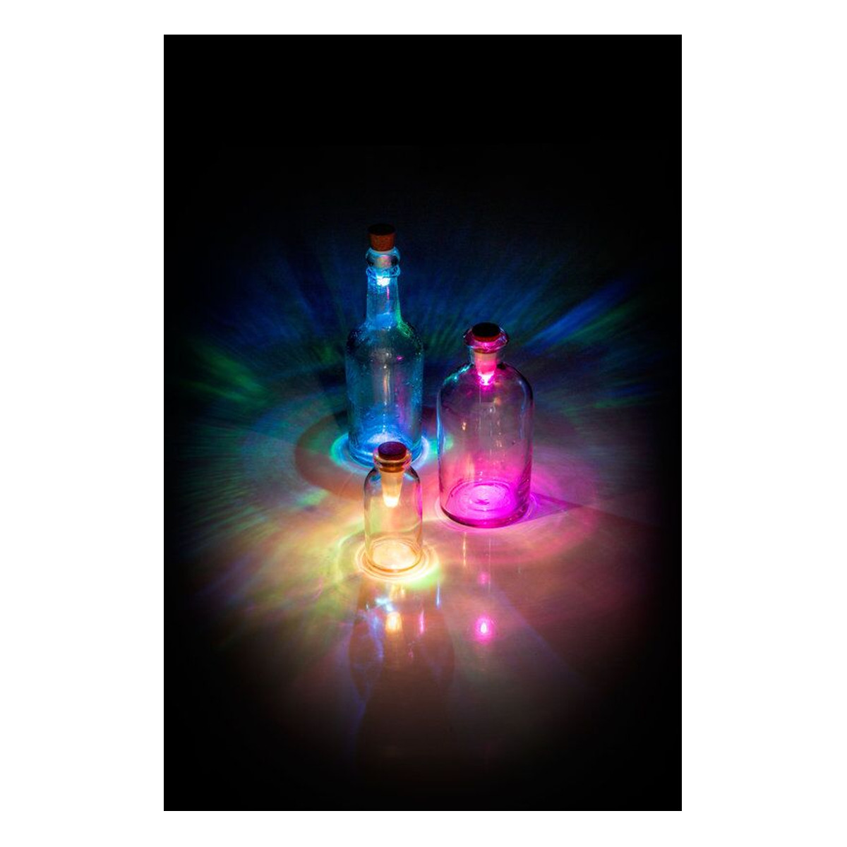 Bottle Light multicolour - Mood
