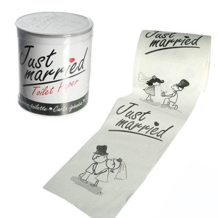 "Klopapier ""Just married"""