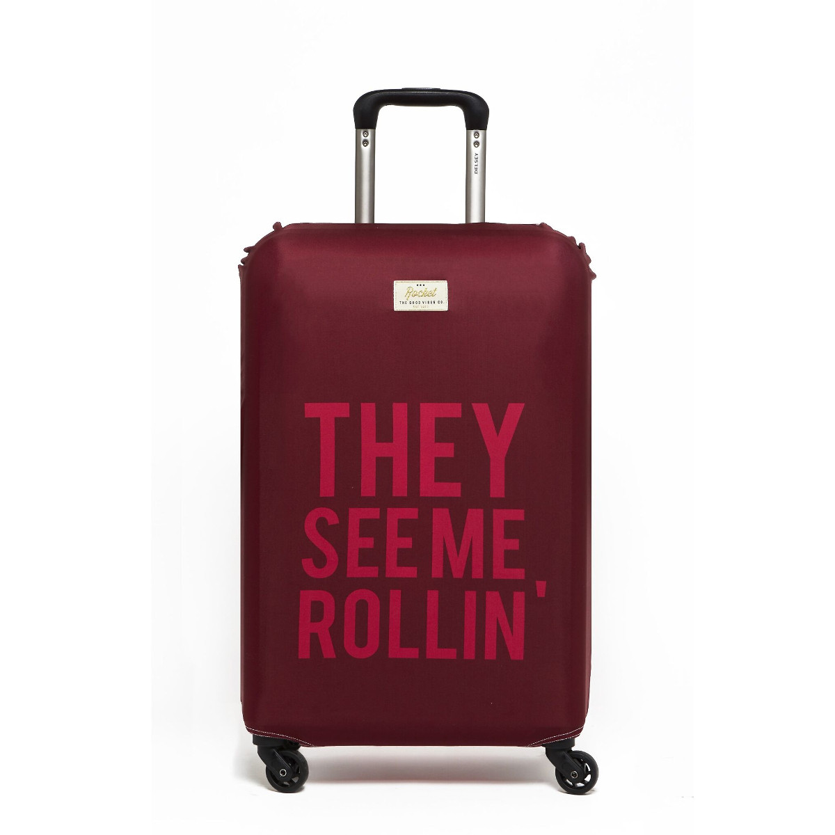 Luggage Cover They see me rollin