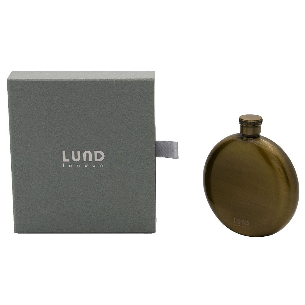 Lund Luxe Gifting 5oz Circular Hip Flask