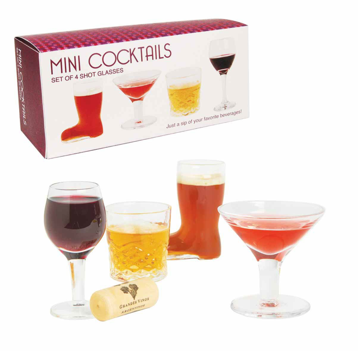 Mini Cocktails - Shotgläser