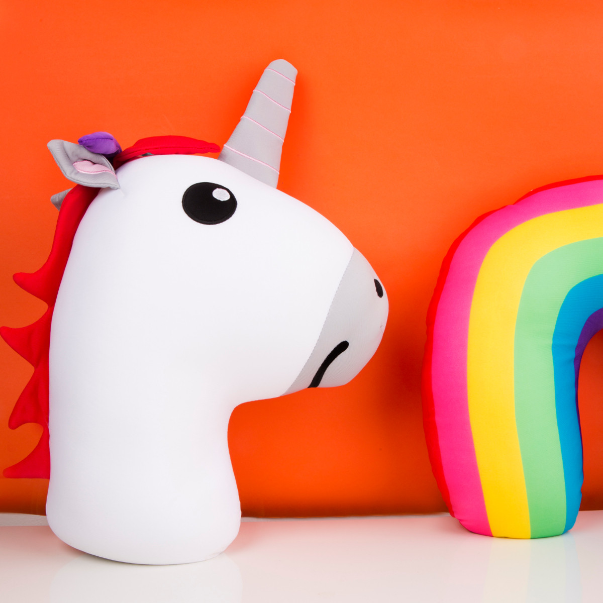 Unicorn Zip and Flip Pillow - Mood 1