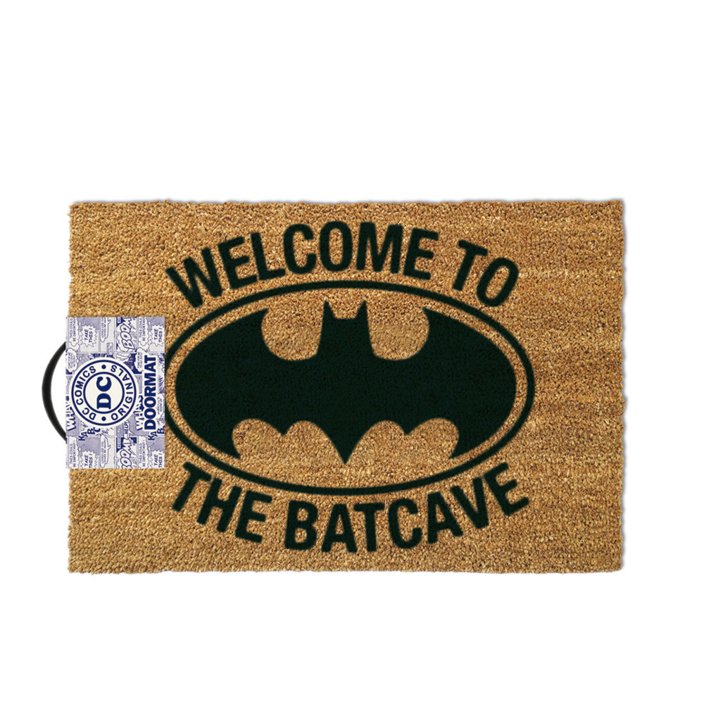 "Batman-Fußmatte ""Welcome to the Batcave"""