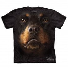Big Face - Tier T-Shirts - Rottweiler