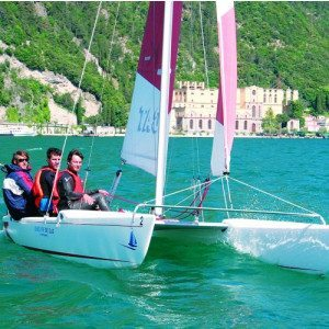 Joy Ride su catamarano per due persone - Lago di Garda