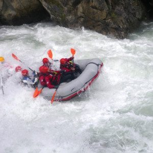 Tour rafting per esperti sul fiume Isarco - Val d'Isarco, Sud Tirolo