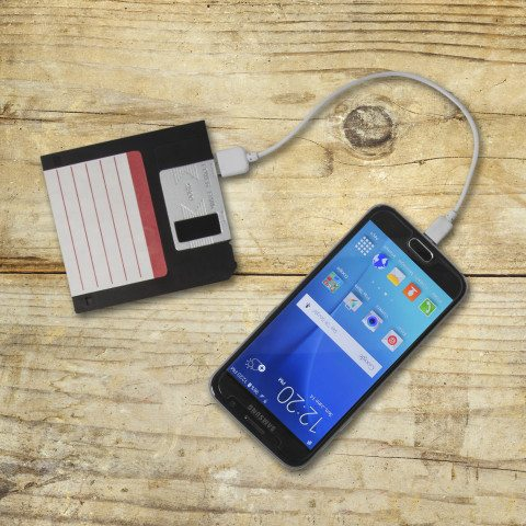 POWER BANK FLOPPY DISK